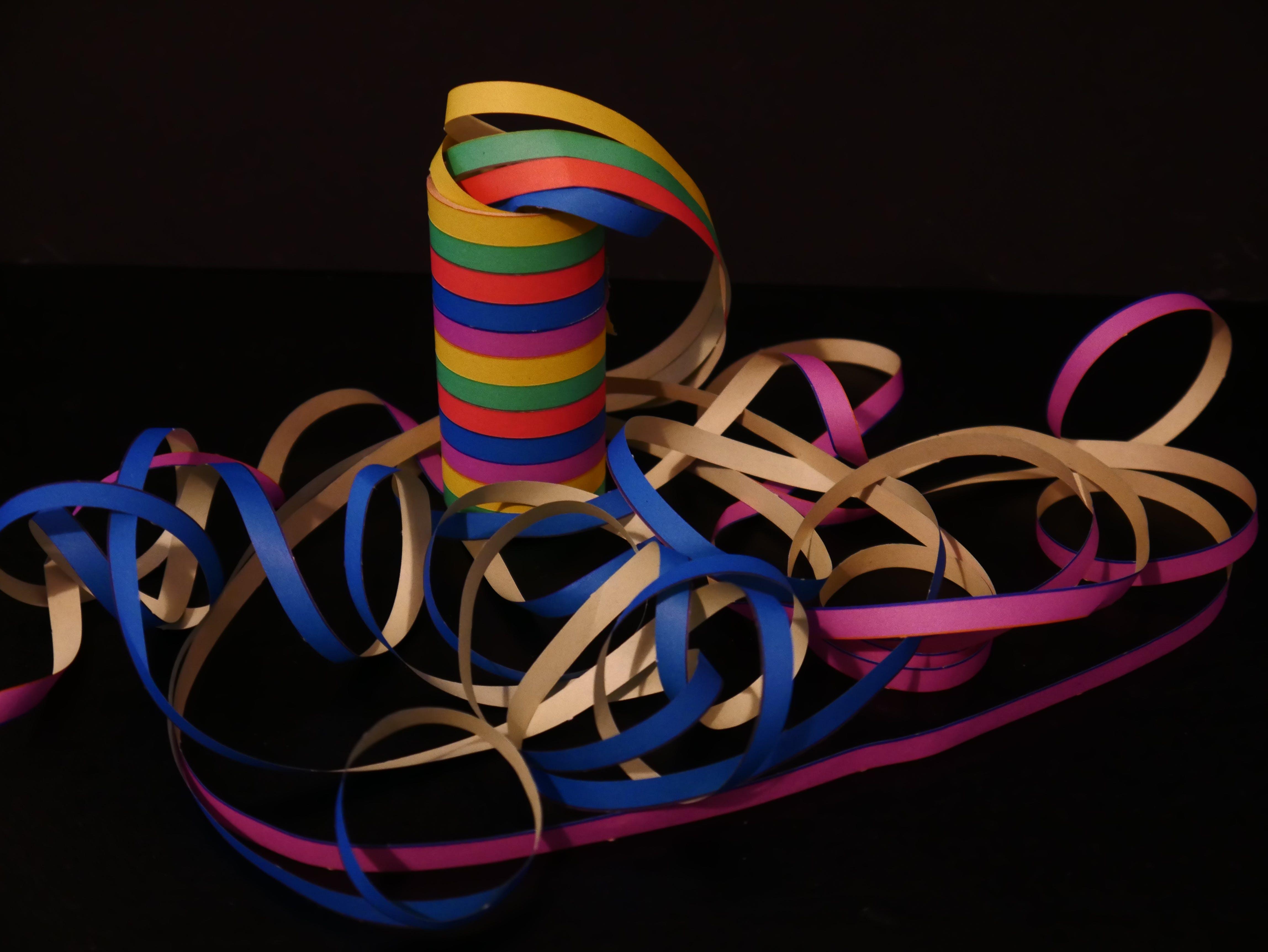 Kostenloses Stock Foto zu bunt, farbig, karneval, schlangen
