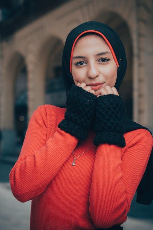 Fotobanka sbezplatnými fotkami na tému človek, hidžáb, krása, krásna