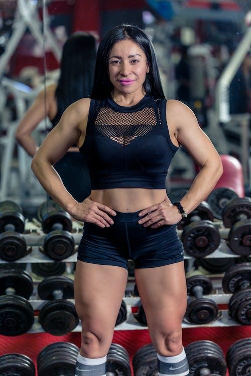 健身, 健身模特兒, 女人, 肌肉結實的 的 免費圖庫相片