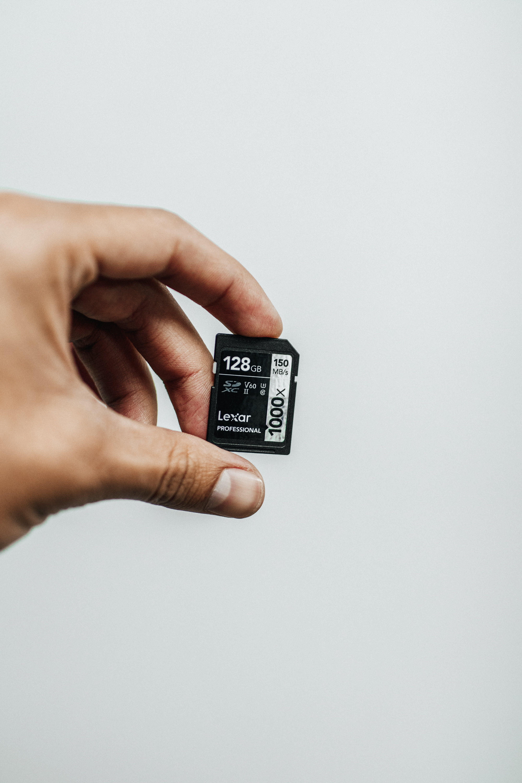 128gb Lexar Micro-sd Card Adapter