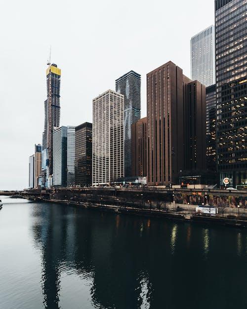 Ingyenes stockfotó építészet, épületek, felhőkarcolók, kortárs témában