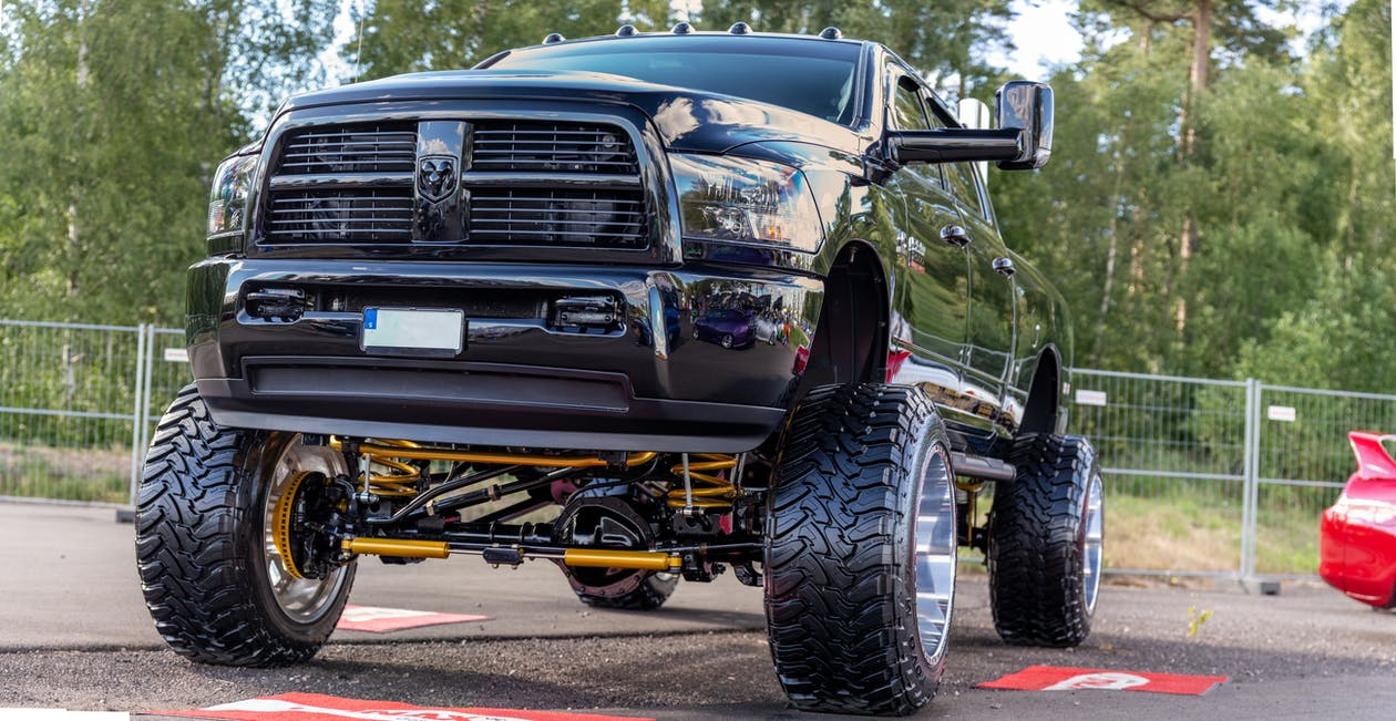 camioneta, cotxe, Dodge