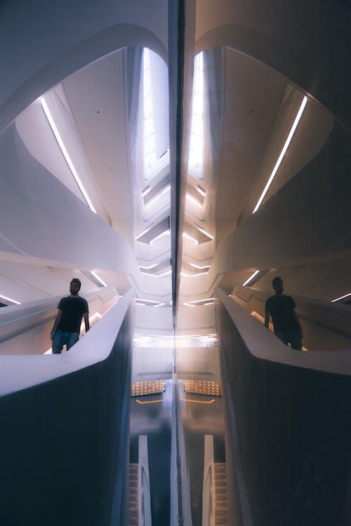 Darmowe zdjęcie z galerii z architektura, budynek, hong kong, klatka schodowa