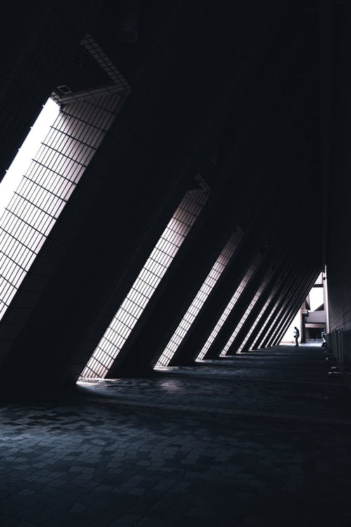 architettura, calcestruzzo, città