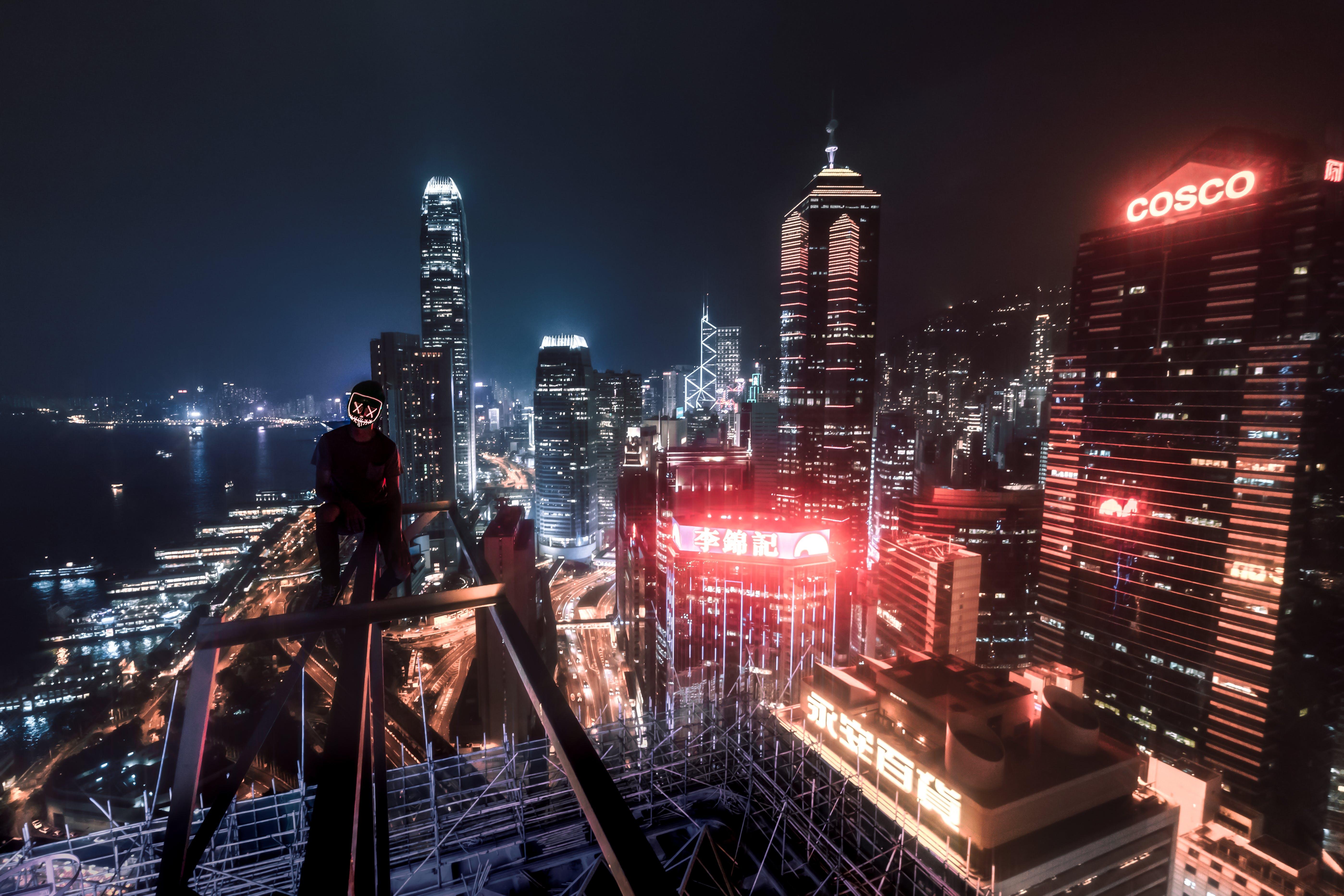 Fotos de stock gratuitas de arquitectura, edificios, el más alto, iluminado