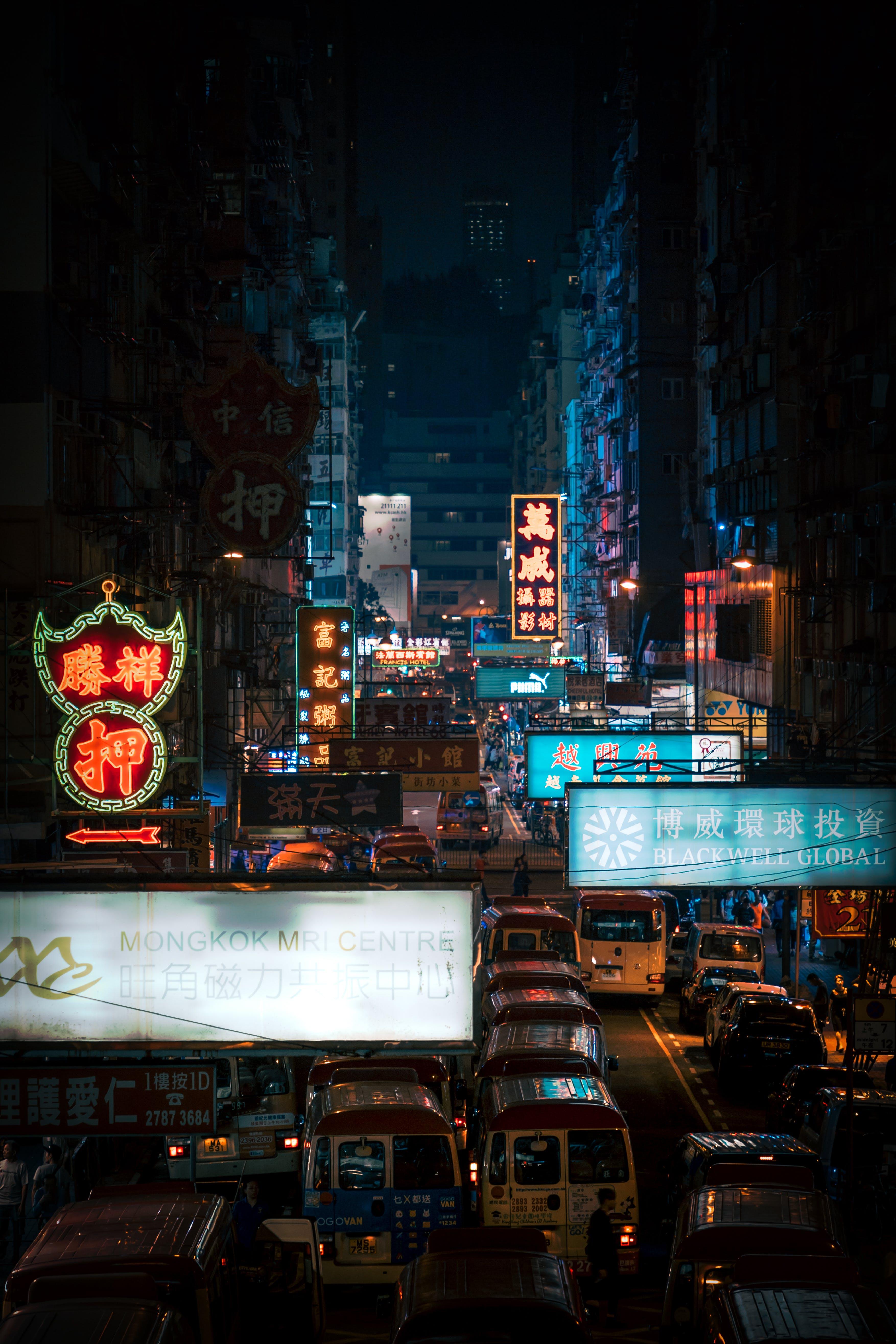 交通, 城市, 市中心, 建築 的 免费素材照片
