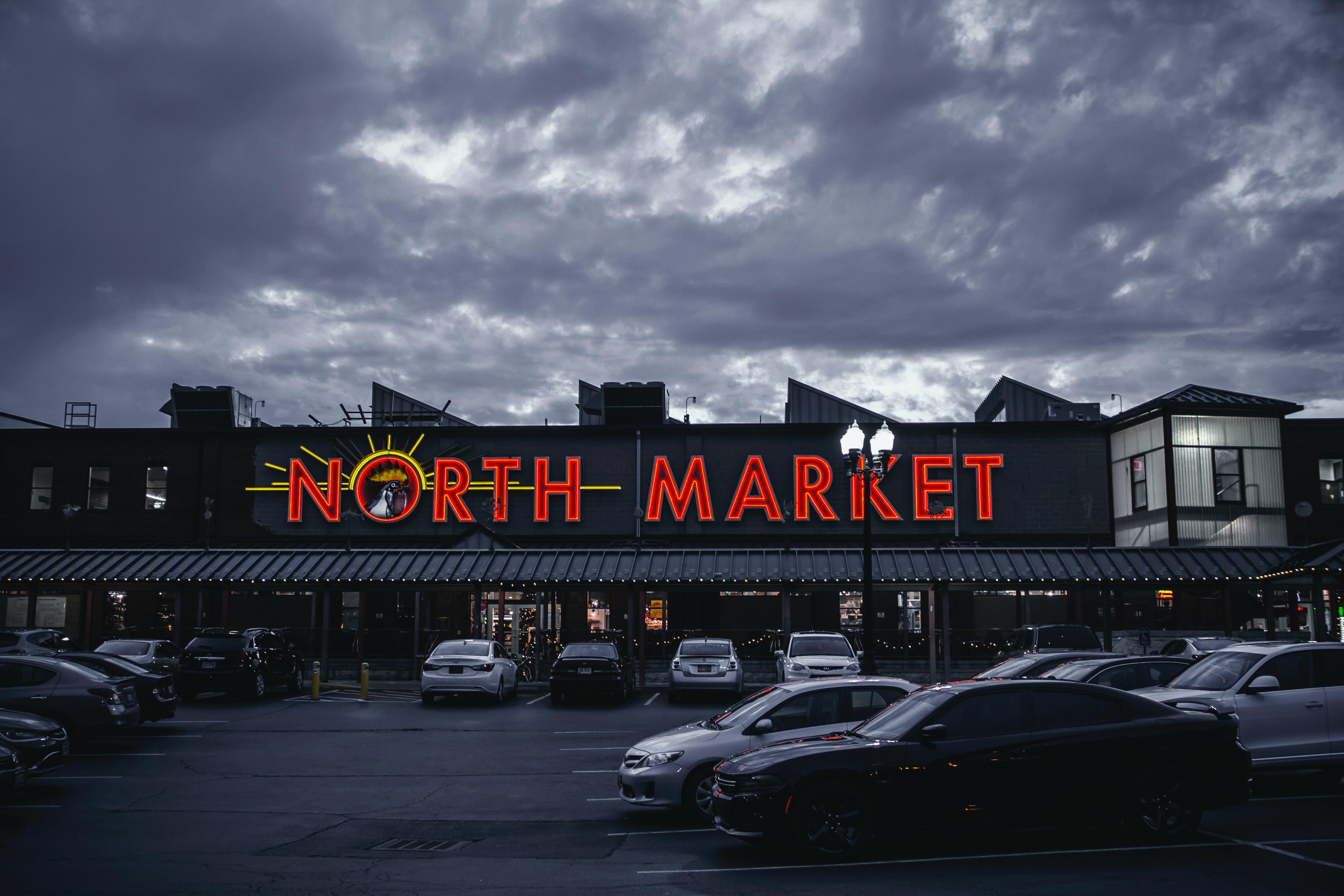 市場 北部