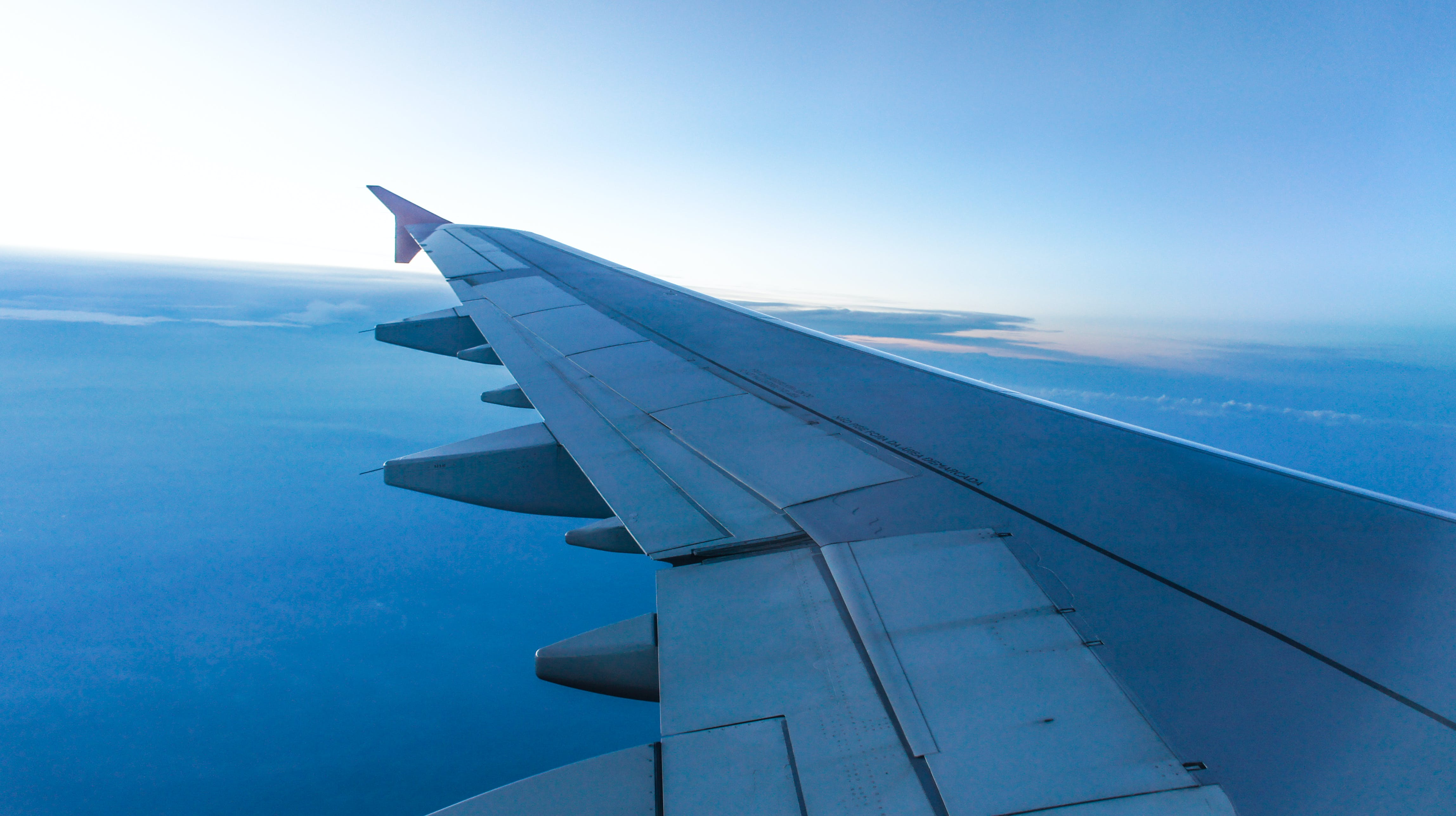 Free stock photo of aeroplane, blue skies, blue sky, fly
