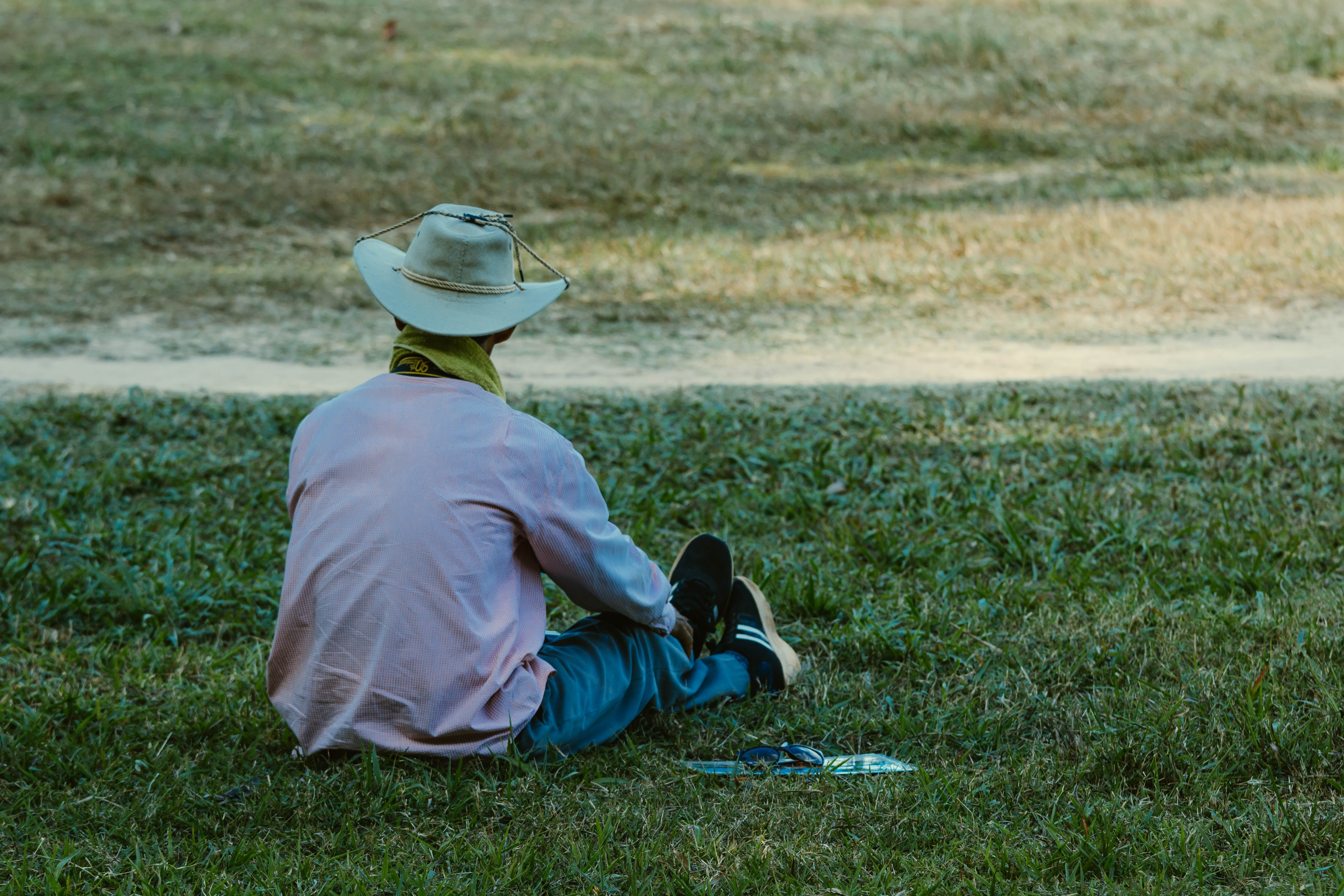Free stock photo of cover, hat, park