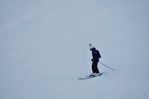 Photo of Person Skiing