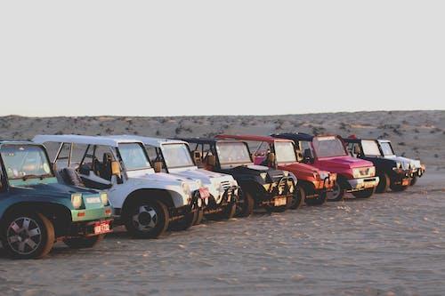 คลังภาพถ่ายฟรี ของ การแข่งรถ, ถนน, ทะเลทราย, ทางแยก