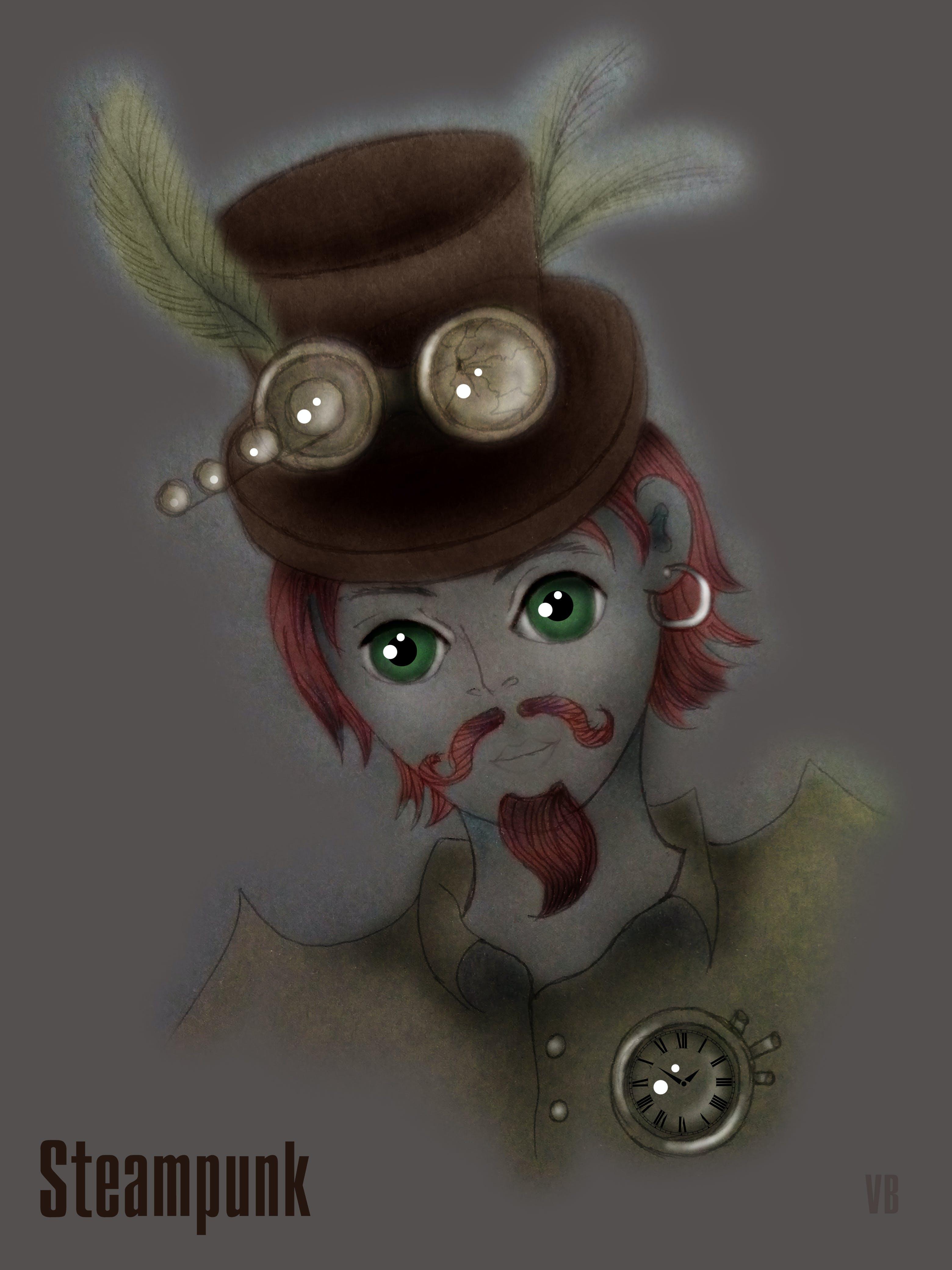 Free stock photo of steampunk