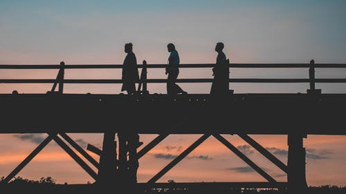 Foto stok gratis cahaya matahari, jembatan, jembatan mon, kanchanaburi