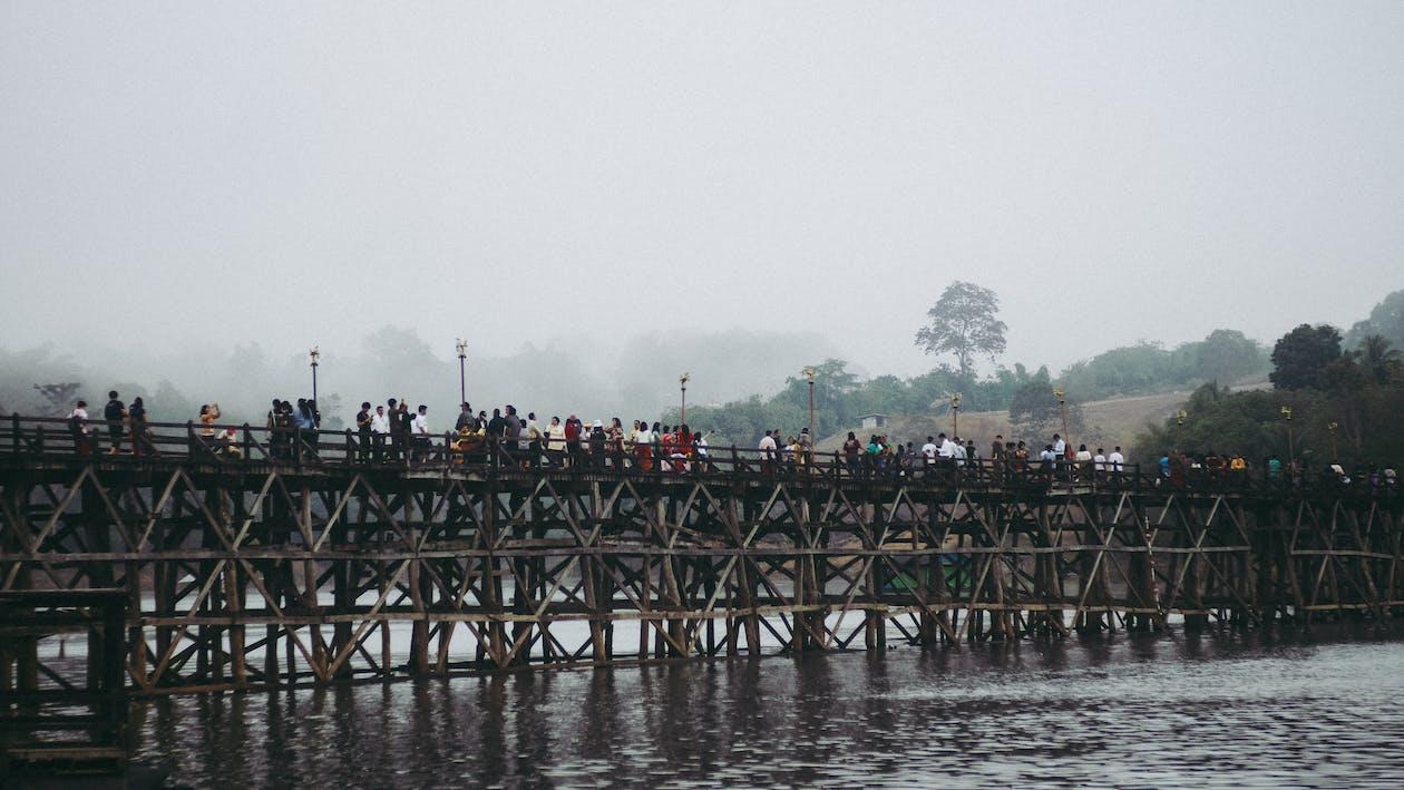 bangsa asia, jembatan, kanchanaburi