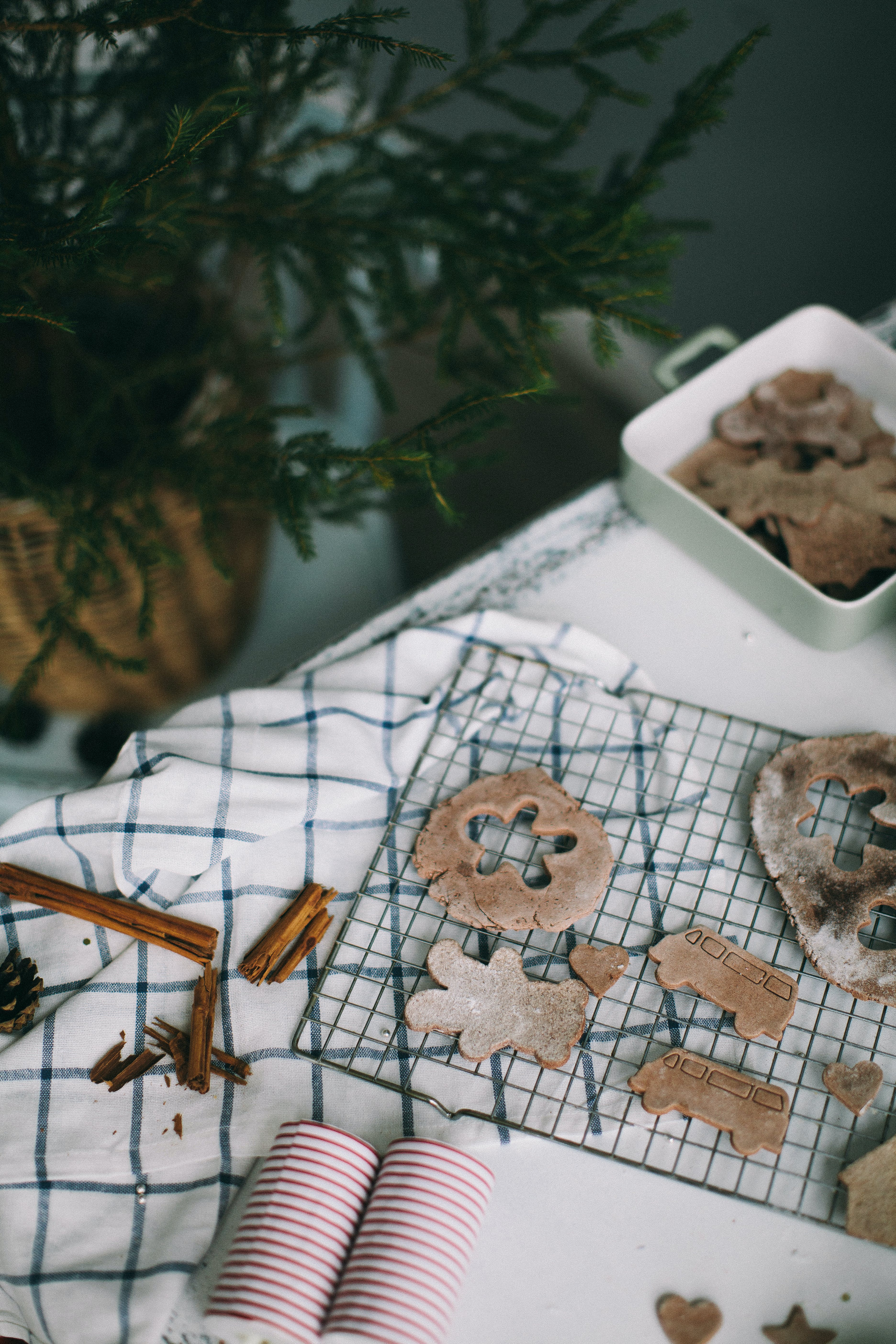 Cutout Gingerbread Man Cookie