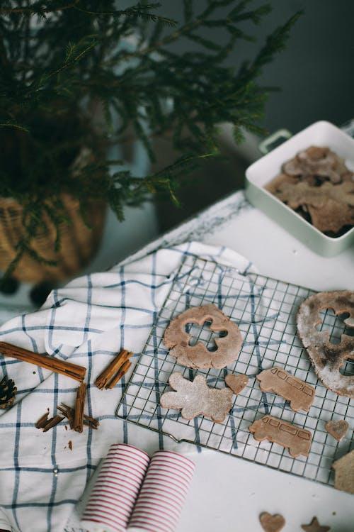 Cutout Gingerbread Man Cookie
