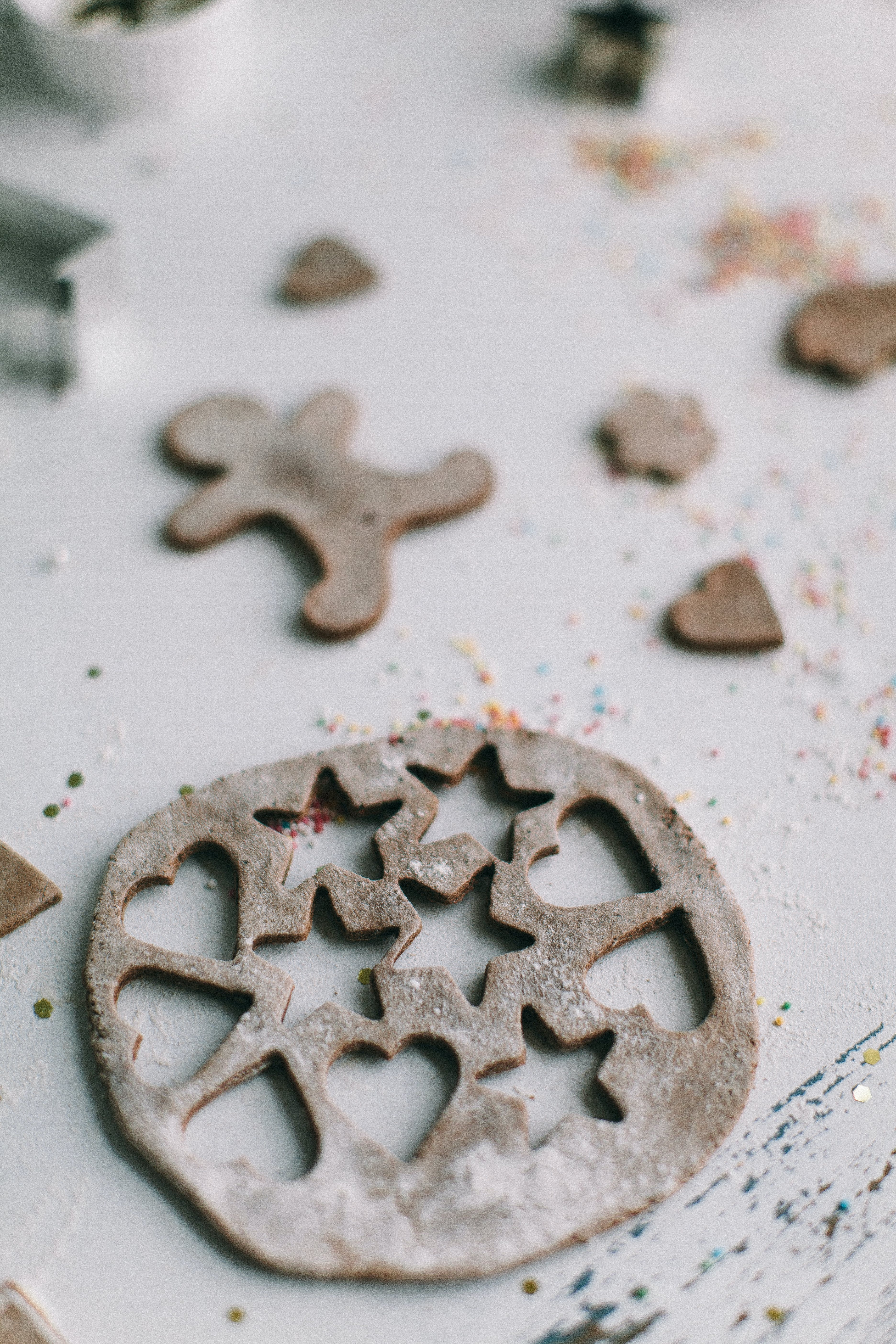 Shallow Focus Photography of Cookie Shapes