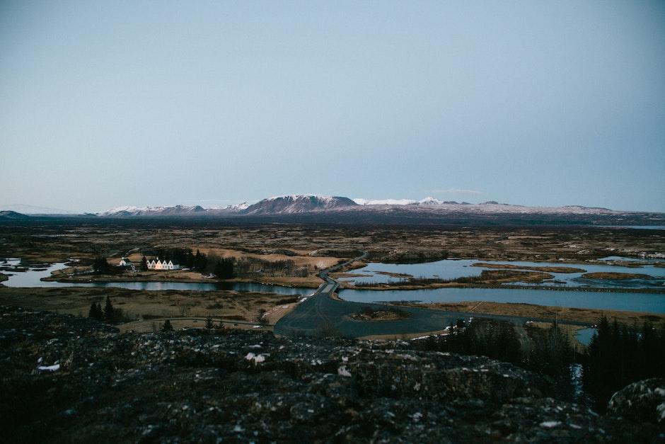 atlantic ridge, mountains, river