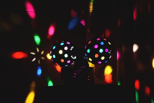 Foto d'estoc gratuïta de festa, làmpada, llums