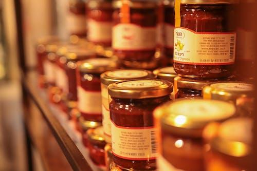 Immagine gratuita di barattolo di vetro, cibo, marmellata, miele