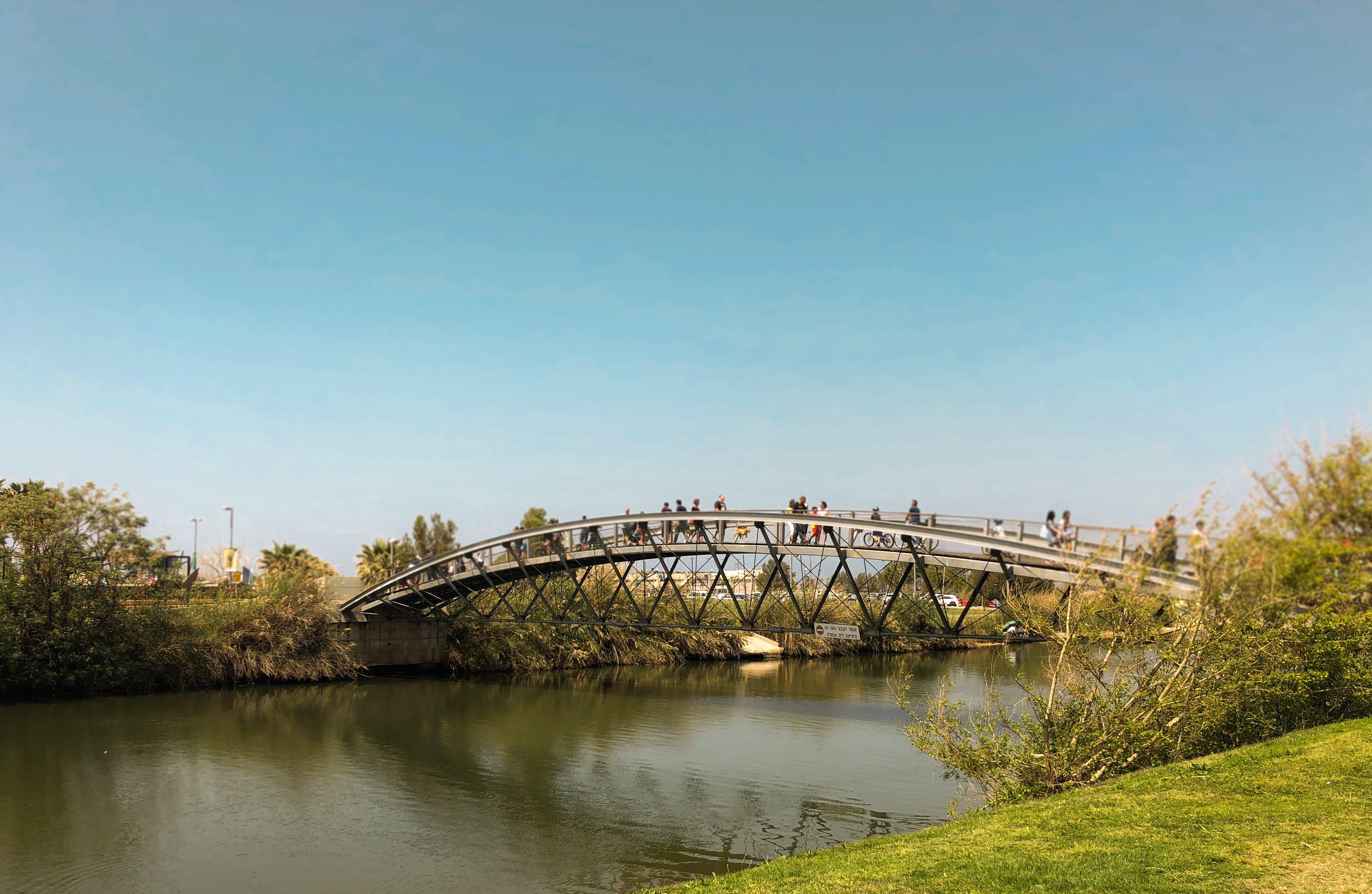 Free stock photo of bridge, hayarkon, Israel, tel aviv