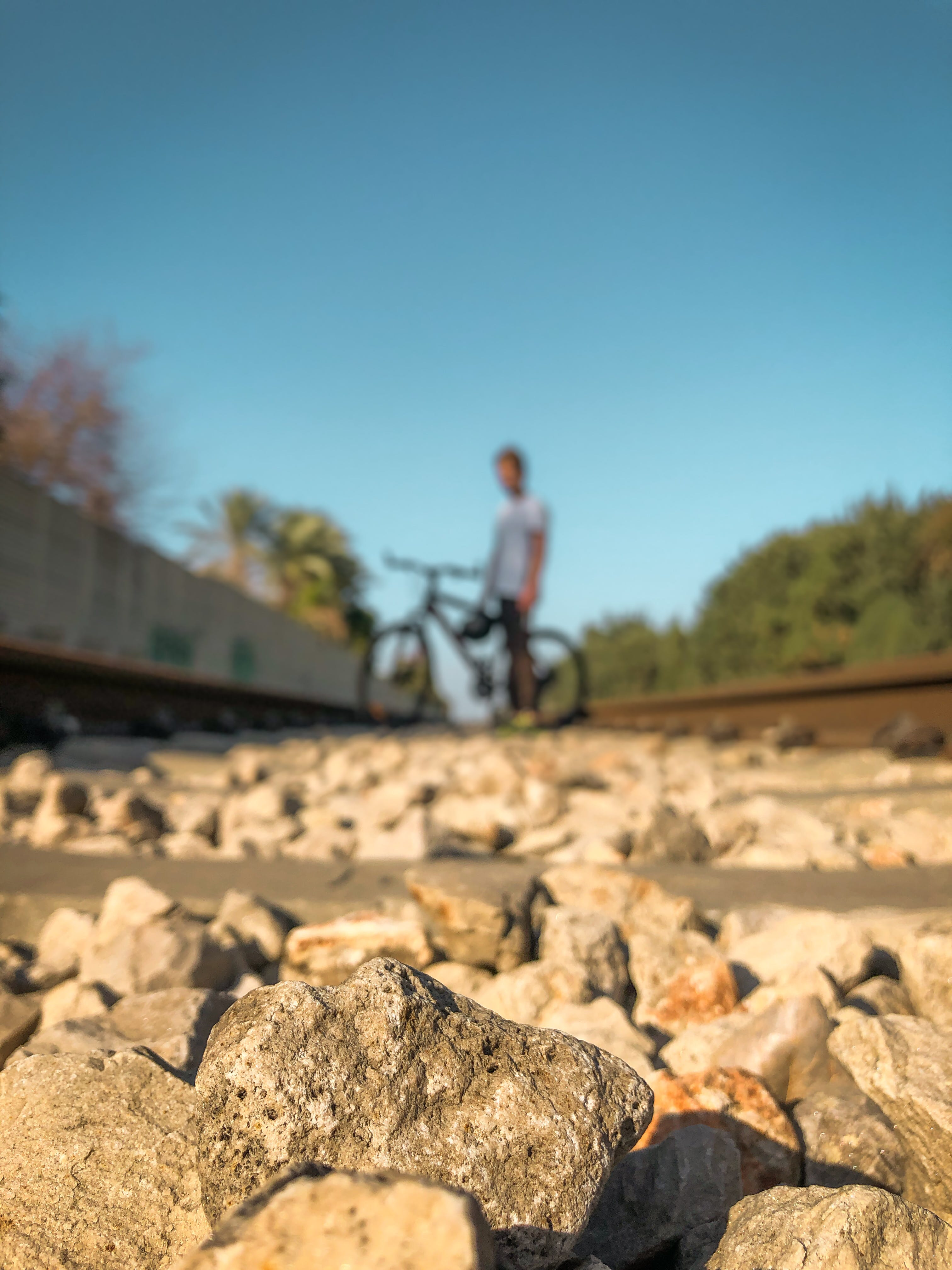 Free stock photo of bicycle, blur, blurred background, depth of field