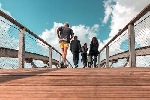 Free stock photo of bridge, family, port tel aviv