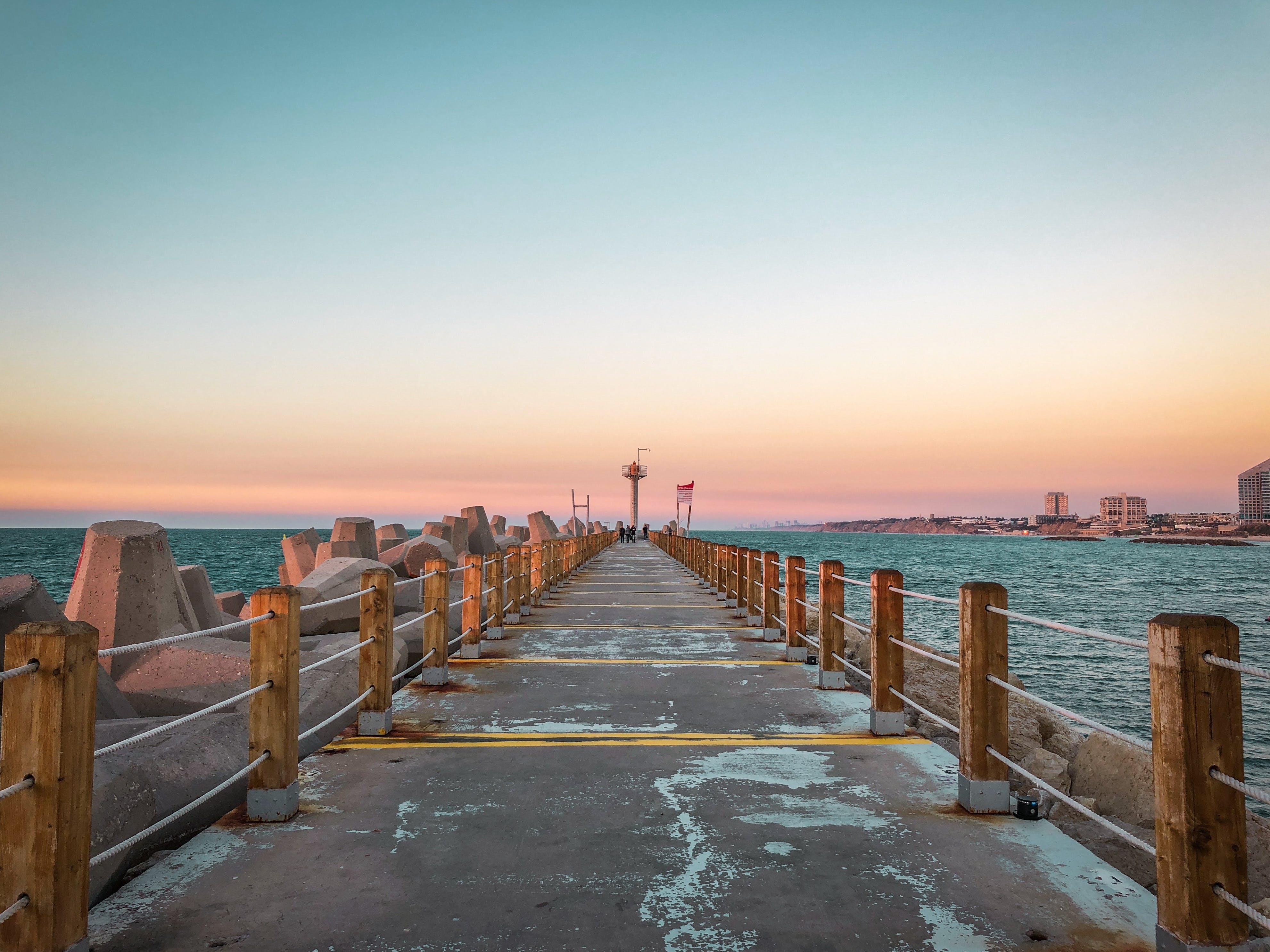 Free stock photo of herzelia, Israel, pier, quay