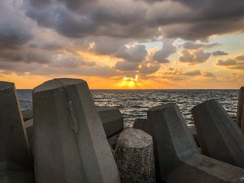 Free stock photo of israel, sea, sky