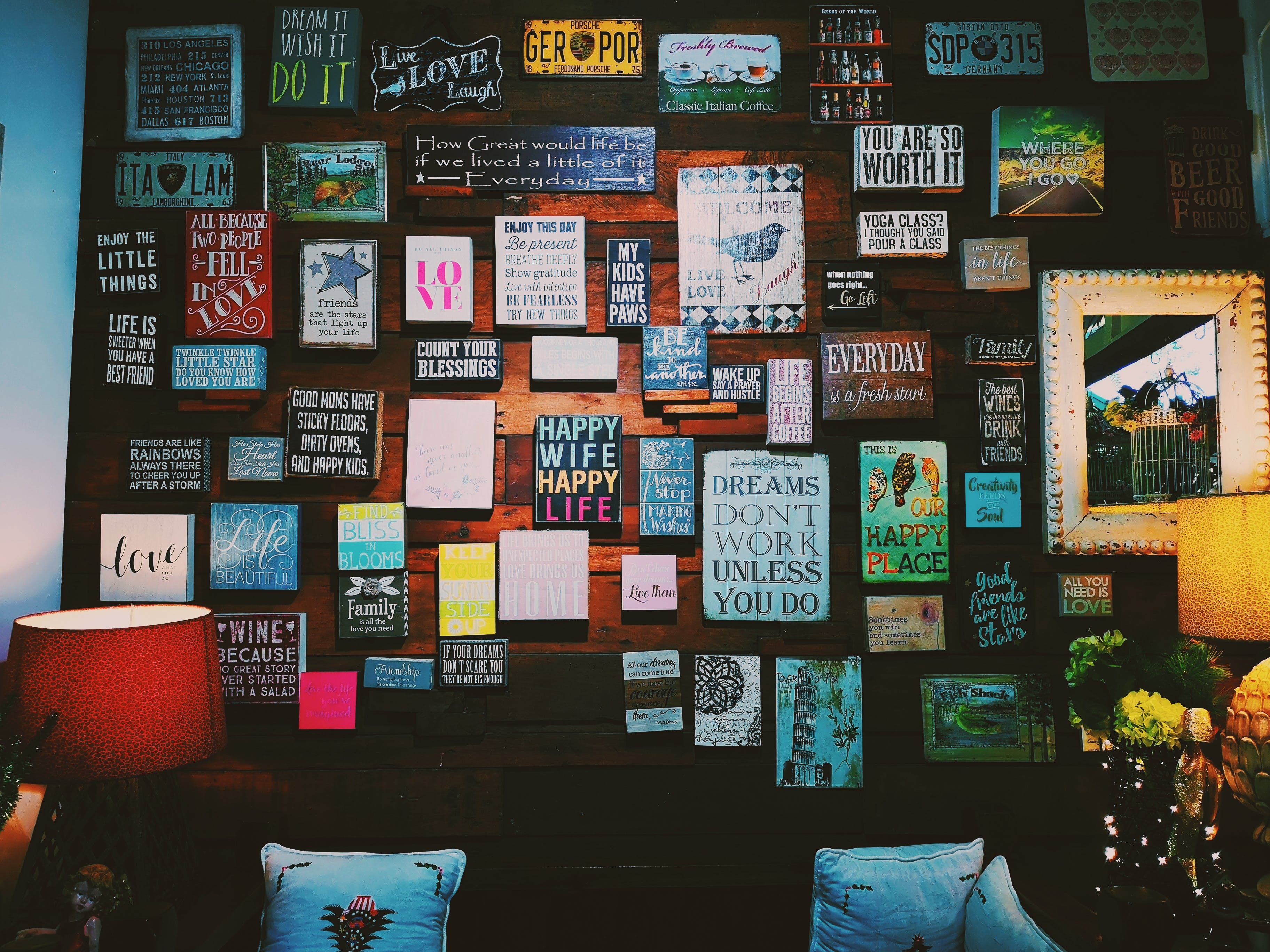 Základová fotografie zdarma na téma architektura, citáty, design, design interiéru
