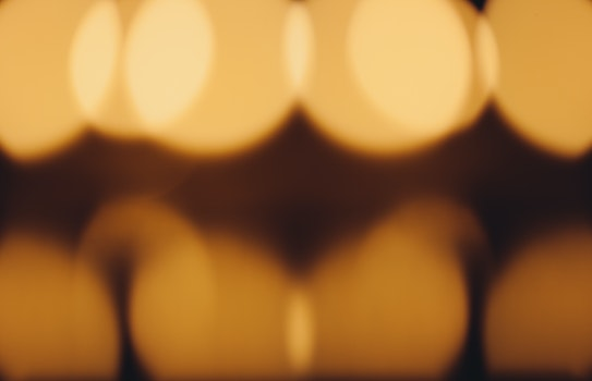 Free stock photo of lights, abstract, blur, orange