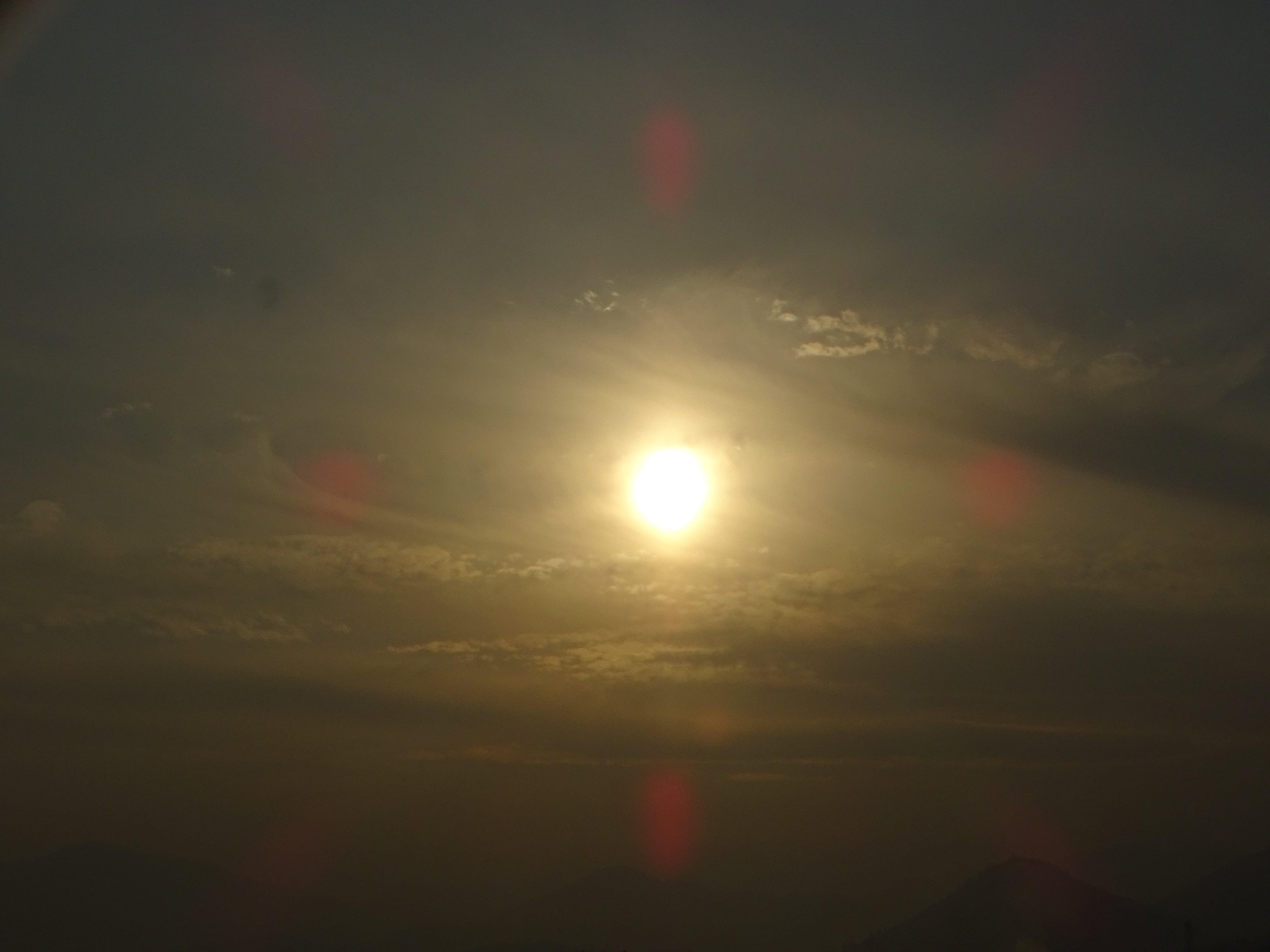 Foto profissional grátis de banhos de sol, céu, nuvens, sol