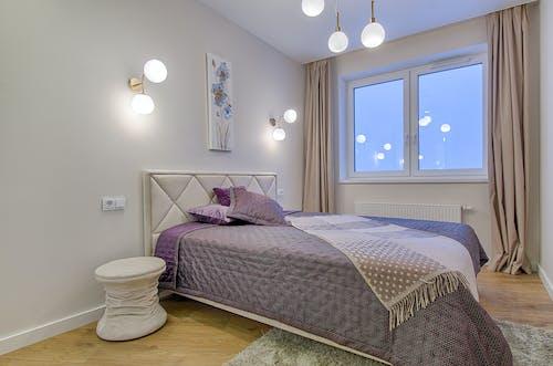 Photos gratuites de à l'intérieur, appartement, chambre, chambre à coucher