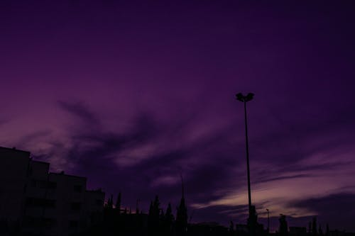 Free stock photo of cloudy sky, Dark Sky, morocco, purple