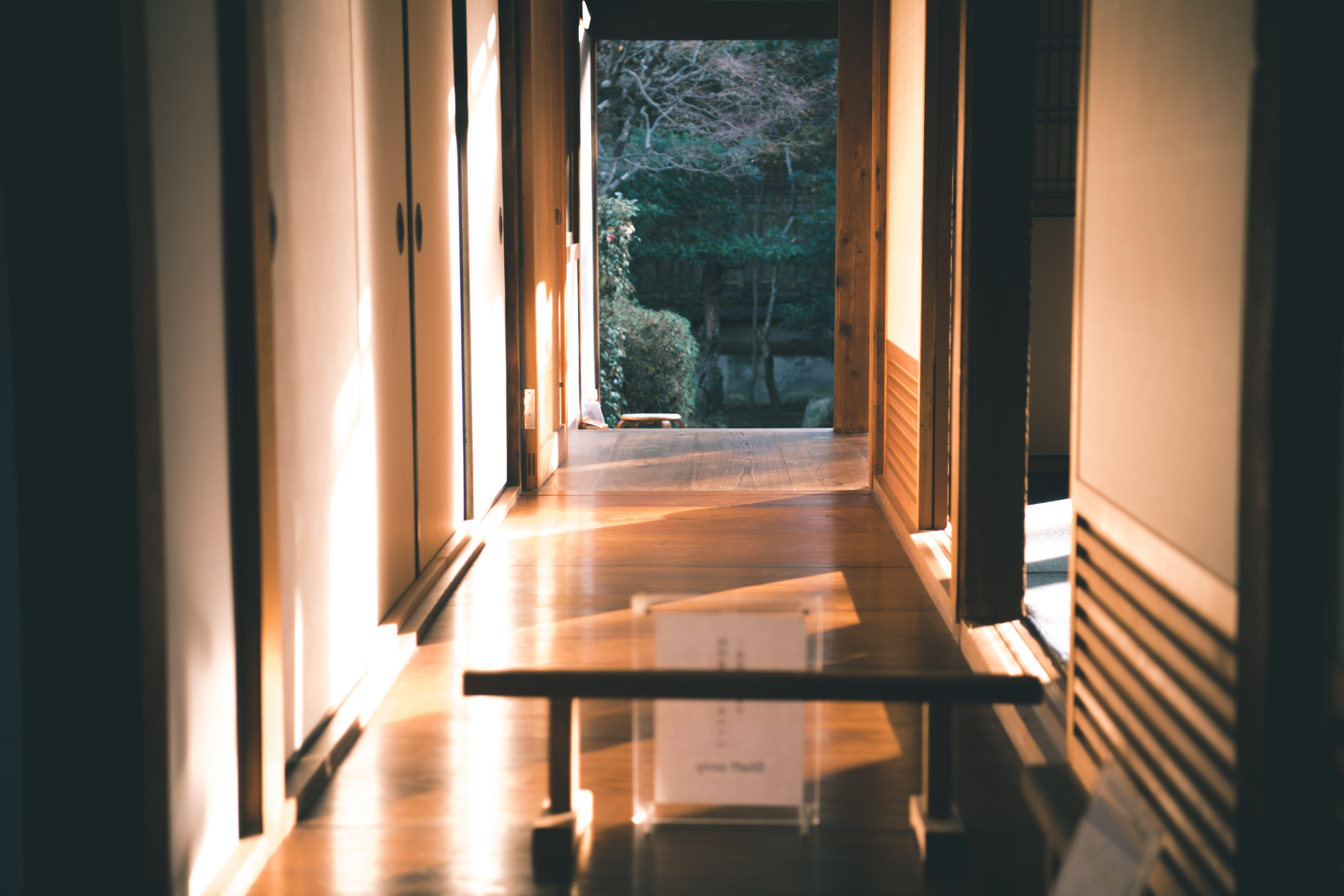 White Wooden Closed Door