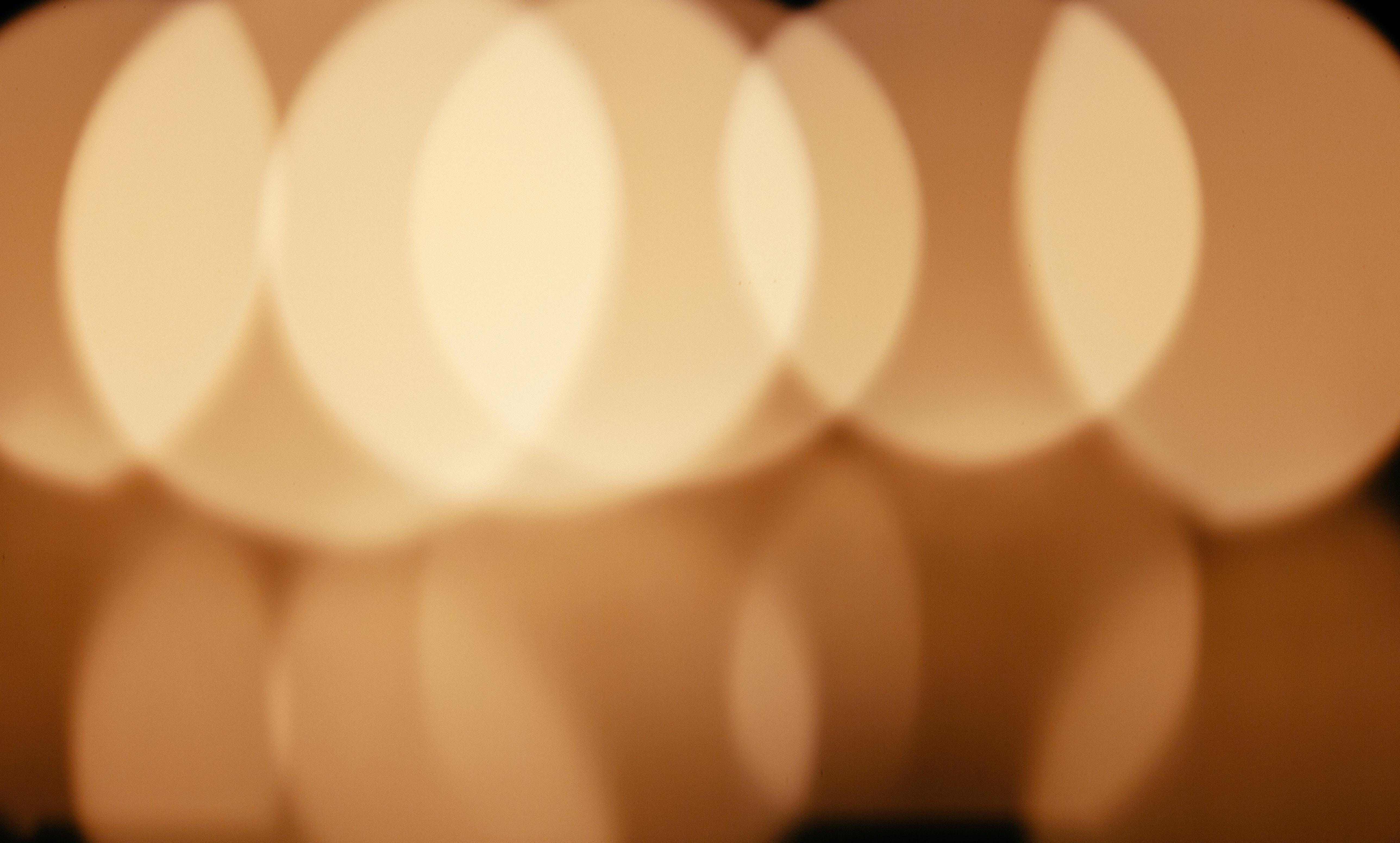 Základová fotografie zdarma na téma kruhy, oranžová, rozmazaný, rozostření