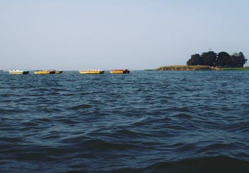 Photos gratuites de bateau, eau, faire signe, iland