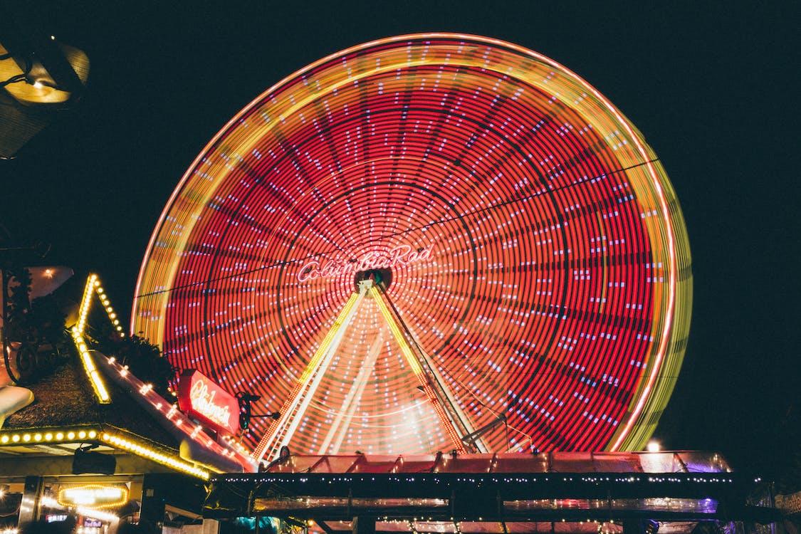 festival, himmel, karneval