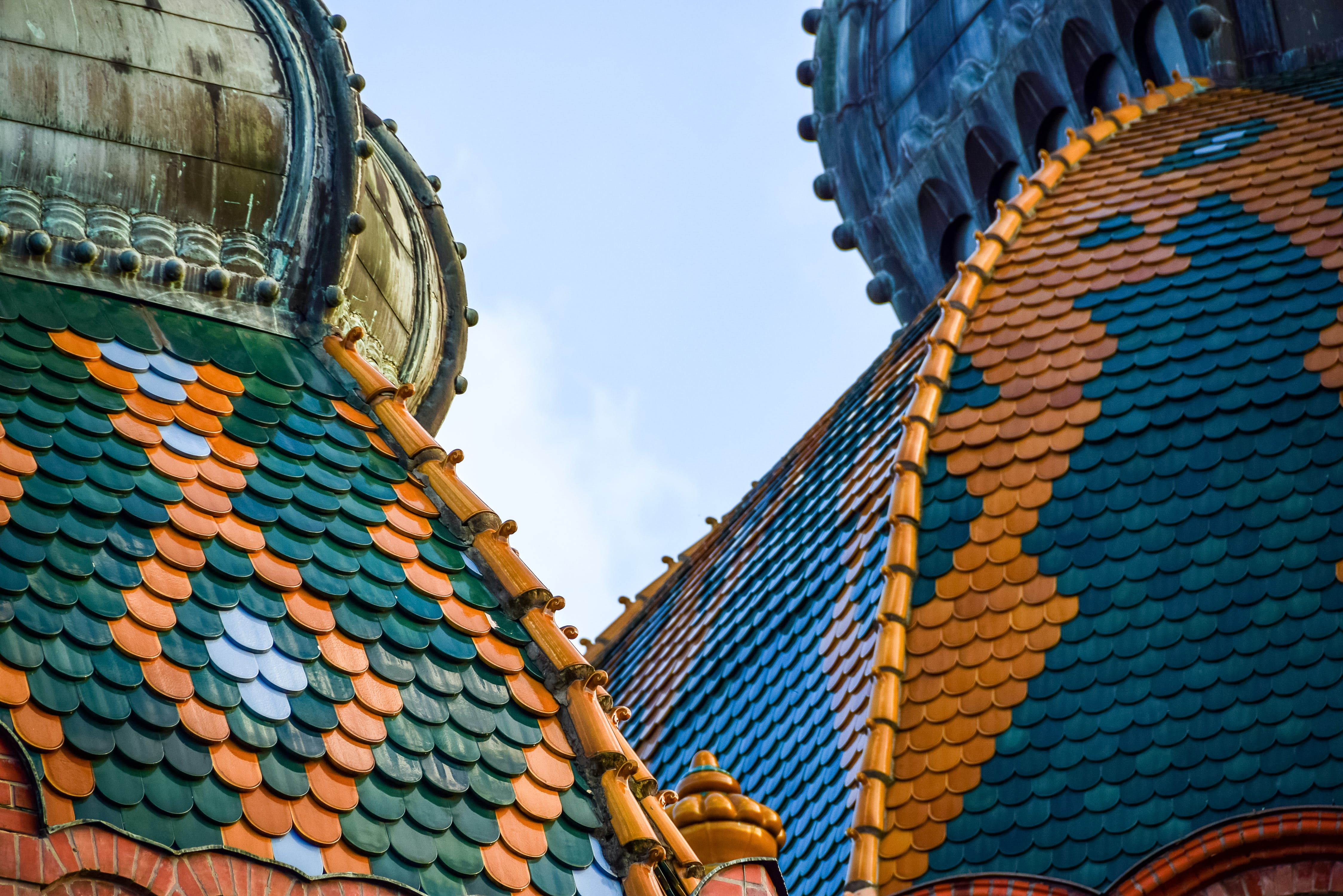 Free stock photo of mosaic, roof, synagogue, tile