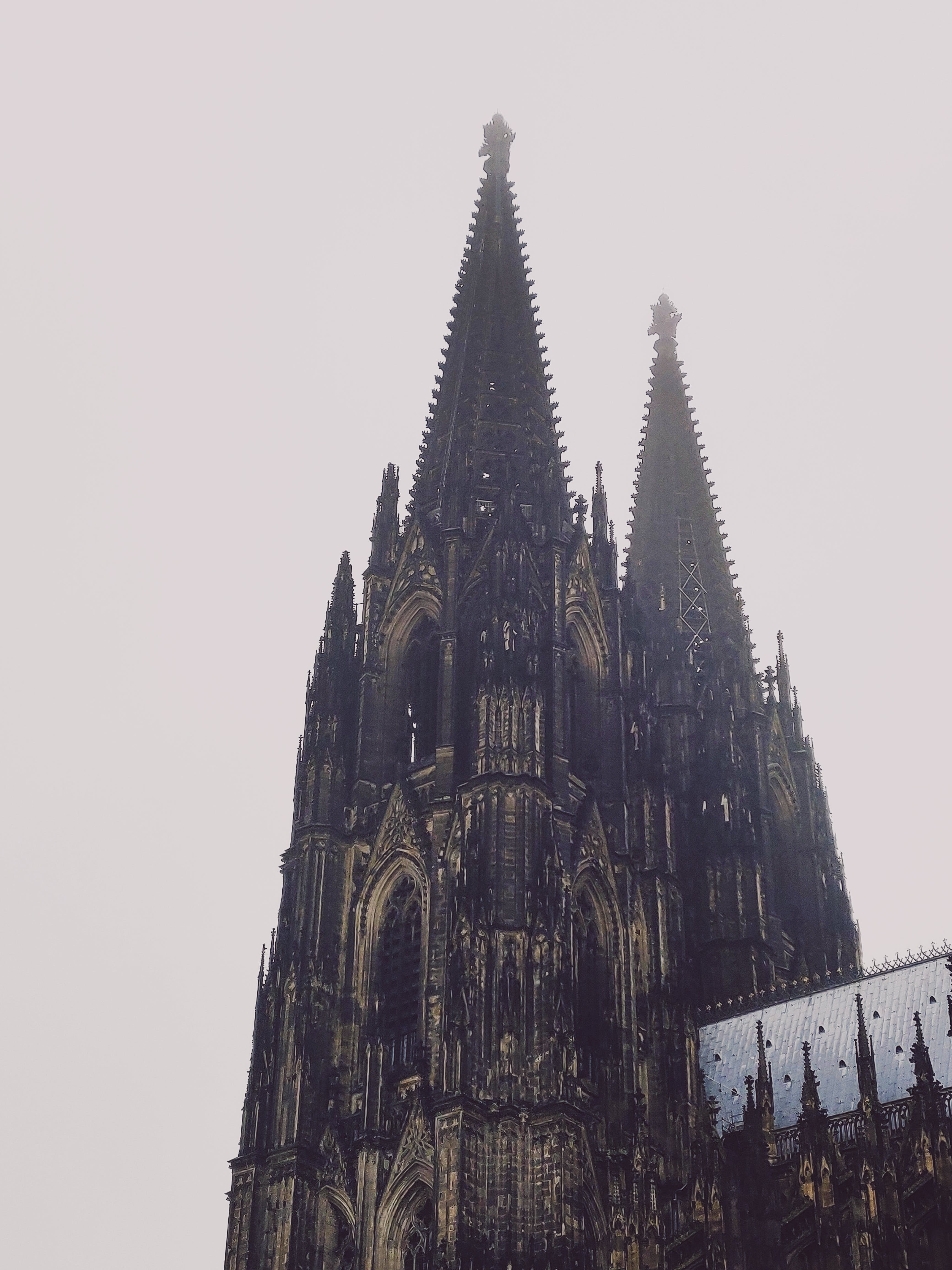 Low Angle Photography Of Cathedral