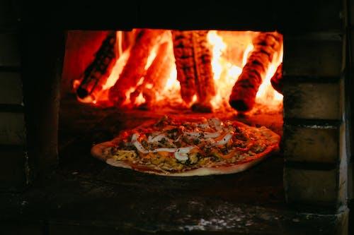 음식, 집에서 만든 피자, 치킨, 피자의 무료 스톡 사진
