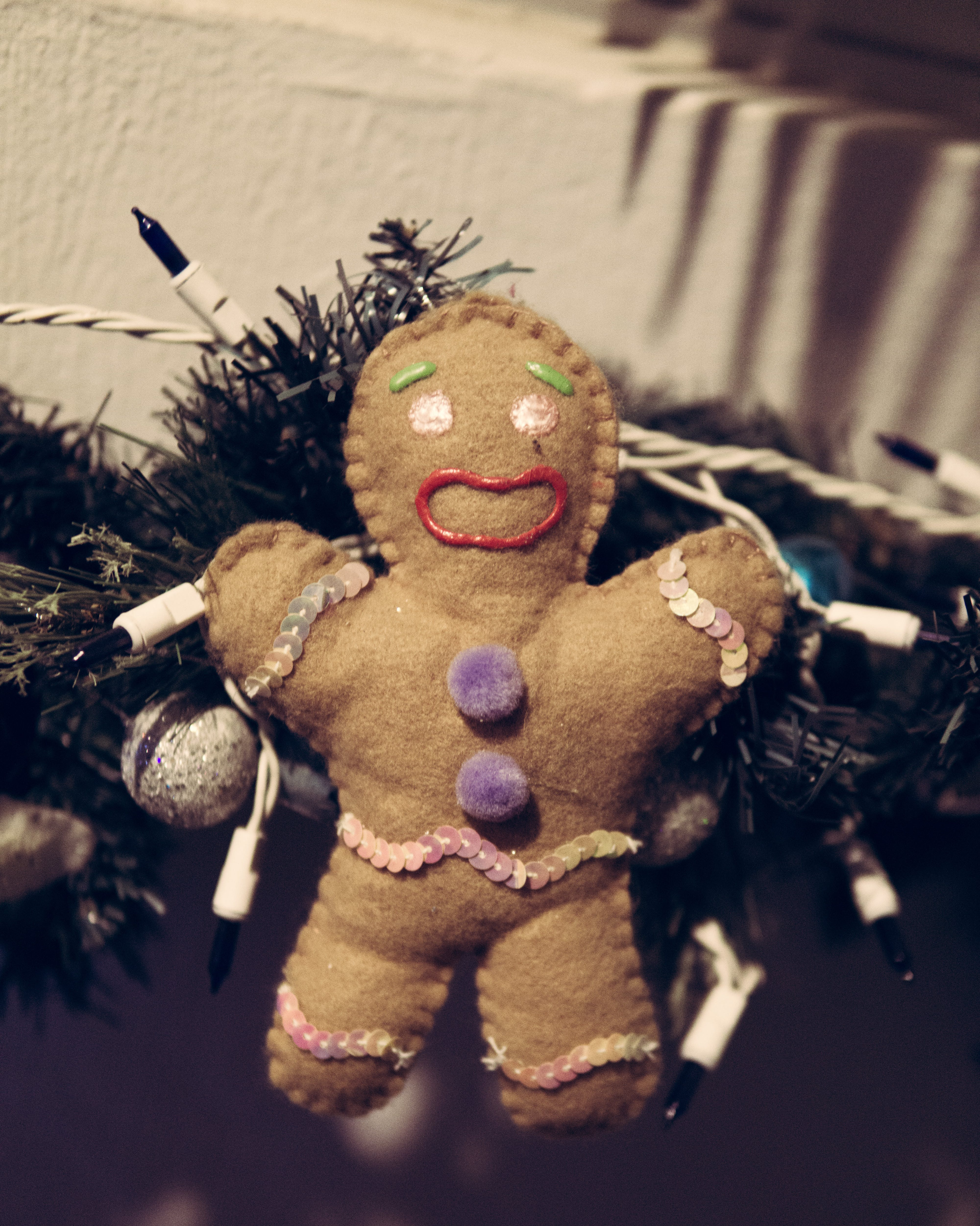 Free stock photo of christmas cookies, doll, gingerbread