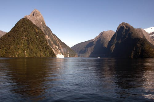 Free stock photo of milford sound, new zealand, southern alps