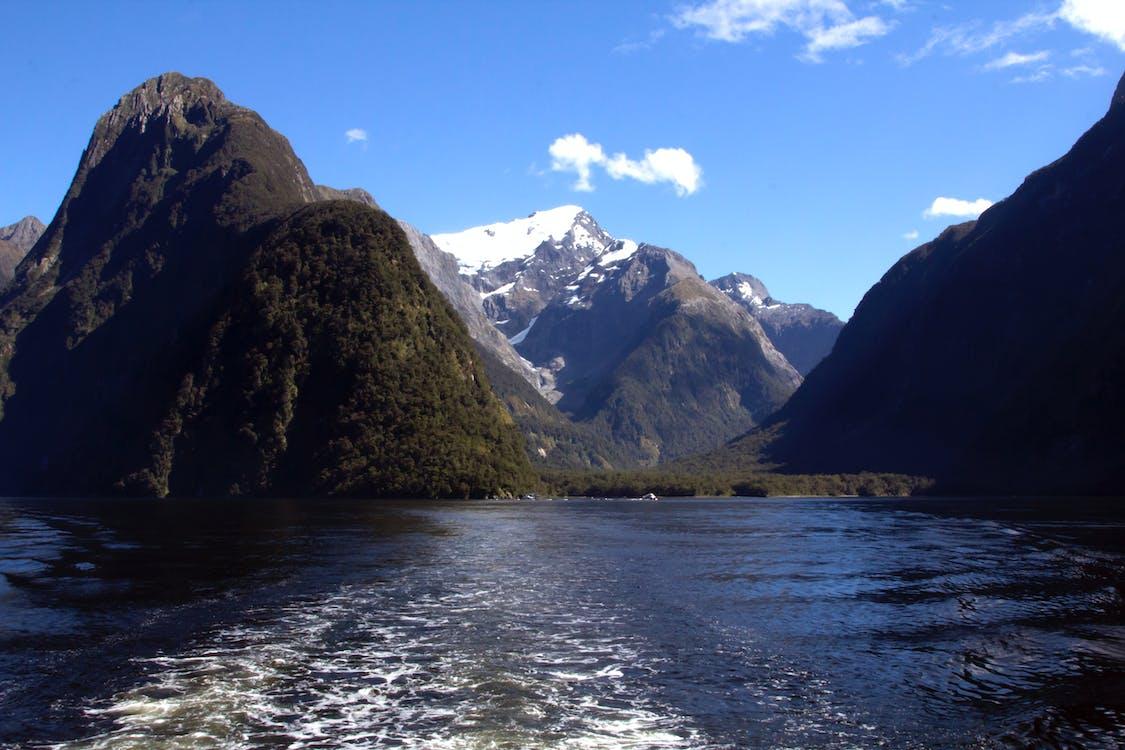 milford sound, neuseeland, südalpen