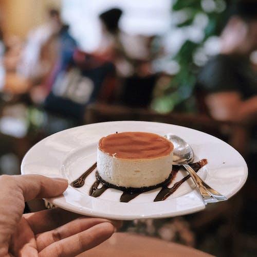 Free stock photo of cake, cheese, cream cake, tiramisu