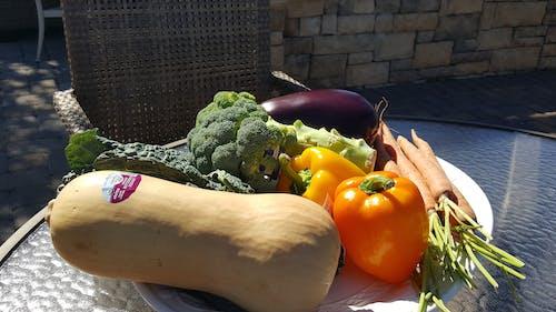 taze sebze, taze sebzeler, vegan içeren Ücretsiz stok fotoğraf