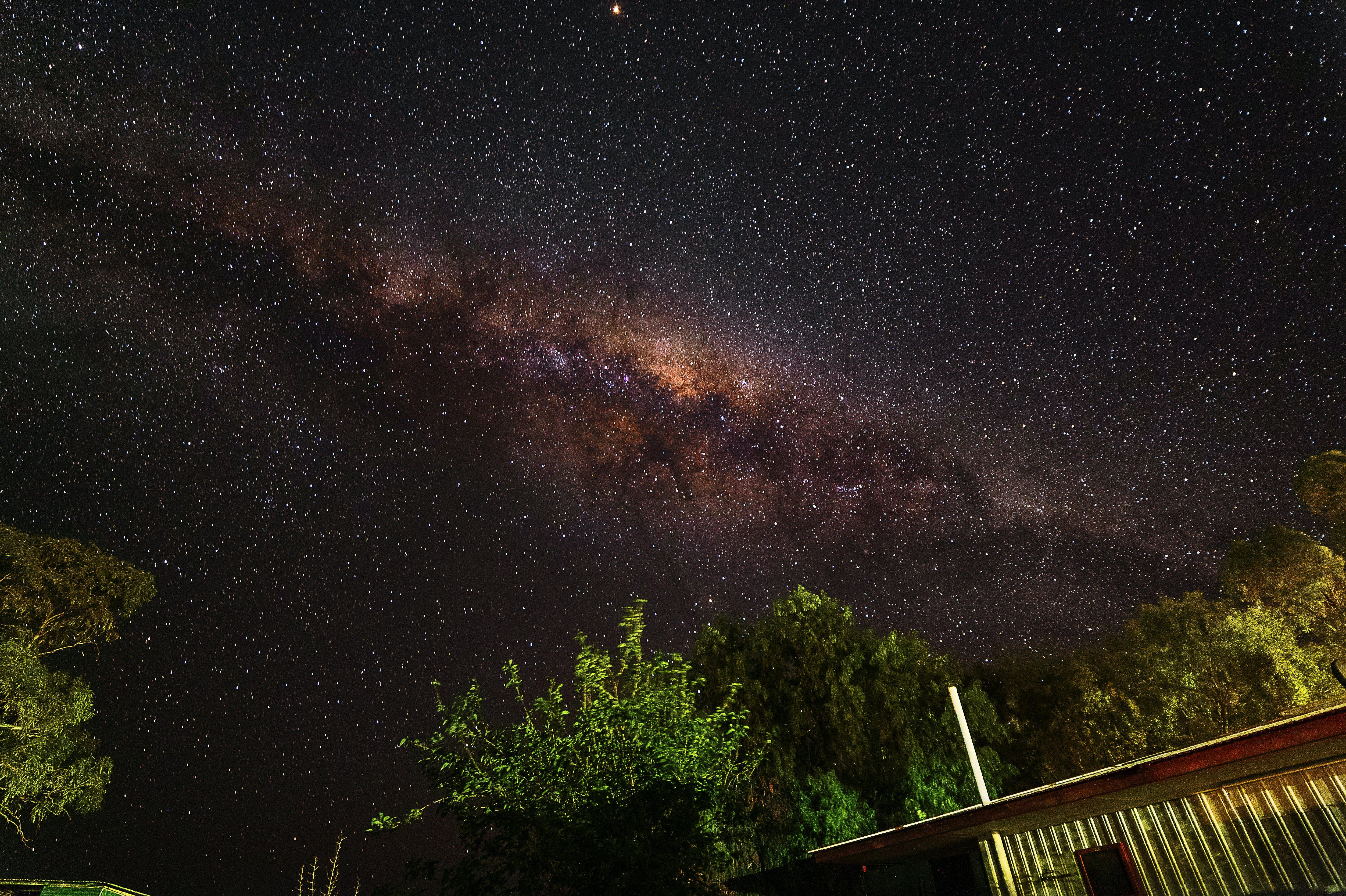 Free stock photo of astrophotography, milky way, night sky, stars