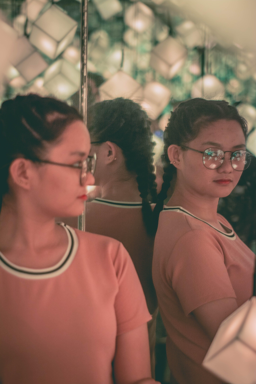 Foto d'estoc gratuïta de huawei, mirall, noia asiàtica, prisma