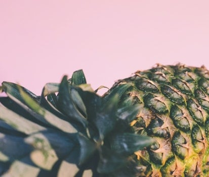 Free stock photo of food, pineapple, pink, fruit