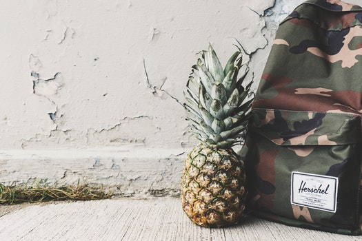 Free stock photo of food, art, wall, pineapple